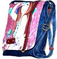 Steal Dee Style Women Blue Denim Sling Bag