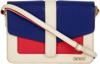 Bern Women Blue, Red, Beige PU Sling Bag