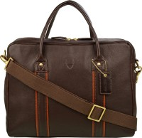 Hidesign Men Brown, Tan Genuine Leather Messenger Bag