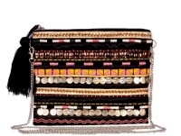 Diwaah The Embellished Medium Sling Bag - Black