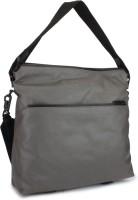 Calvin Klein Women Grey Cotton, PU Sling Bag