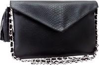 Hi Look Women Casual Black PU Sling Bag