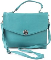 Lezara Girls Formal Blue PU Sling Bag