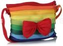 Use Me Bow On Rainbow Medium Sling Bag - Multi-color