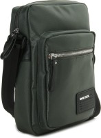 Diesel Women, Men Green PU Sling Bag