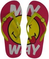 Smiley Flip Flops