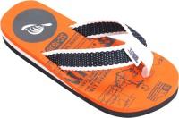 Tangerine Toes Woven Upper Flip Flops