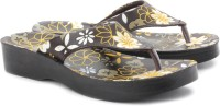 Tiptopp Jasmine-Brown Flip Flops