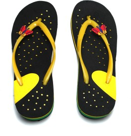 Craze Shop Butterfly Flip Flops