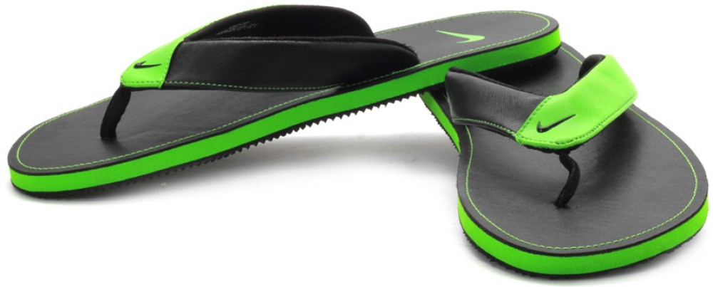 69c3be3f4099 ... clearance nike neon green aquahype flip flops green nike sandals 60bc9  3cab5