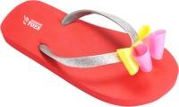 Tangerine Toes Bow Flip Flops