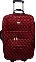 United Bags UTB24001 Checks Expandable Small Travel Bag  - Medium Red