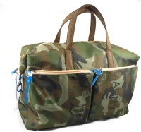 Harp Dallas Miltary Expandable Small Travel Bag  - Large - Green
