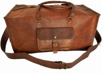 "Rustictown Leather Gym Duffle Bag 19"" Small Travel Bag  - Small - Brown"