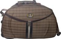 United Checks Trolley BG Small Travel Bag  - Medium Beige