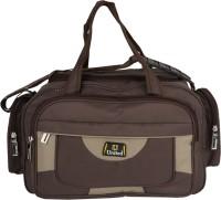 United Bags Joystick BRN On BRN Small Travel Bag  - Medium Brown