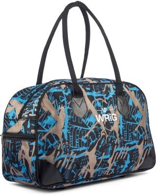 WRIG WDB064-B Blue Small Travel Bag Blue