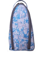 Bagsrus Splash Printed Shoe Bags Small Travel Bag (Blue)
