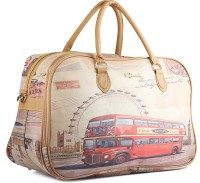 Wrig PF-WDB032-C Pink Beige Small Travel Bag  - Large Pink