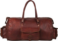 "Rustictown Leather Duffle 20"" Small Travel Bag  - Medium - Brown"