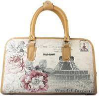 WRIG PF-WDB039-D Grey Beige Small Travel Bag  - Large Grey Beige