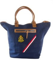 Harp Santiago Classic Tote Navy Small Travel Bag  - Large Navy Blue
