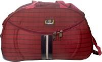 United Checks Trolley RD Small Travel Bag  - Medium Red