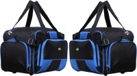 NL Bags Compotrvlboxer Small Travel Bag  - Large Black, Royal Blue