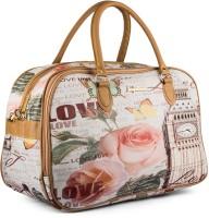 Wrig WDB073-D Pink Small Travel Bag  - Large Pink