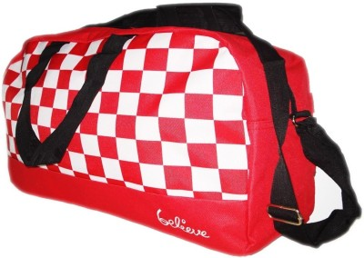 Get Believe Checker Small Travel Bag For Rs 299 Only Worth Rs 1990
