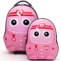Inventure Retail Hardshell Cutie Bag For Kids Nurse Small Travel Bag  - Medium Pink