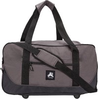 PinStar Cement Solid Nautica Small Travel Bag  - Medium Grey-02