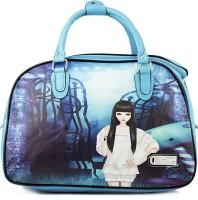 WRIG PF-WDB047-C Blue Small Travel Bag  - Large Blue