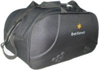 Believe Shell Small Travel Bag  - Large - Black