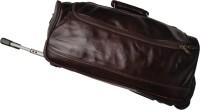 Bag Jack Venaticorum 22 Inch Duffel Strolley Bag Coffe Brown