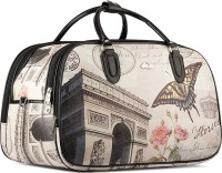 WRIG PF-WDB042-B Black White Small Travel Bag  - Large Black White