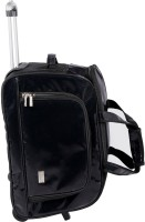 Pragmus Duffel Bag With Trolley Small Travel Bag - Medium - Black