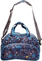 Yark Trendy Small Travel Bag Multicolor (BlackBluePrint)