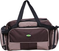Nl Bags Trvlboxer Small Travel Bag Brown And Biscuit
