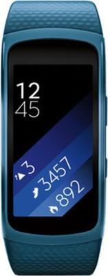 SAMSUNG Gear Fit 2 Blue Smartband (Blue Strap L)