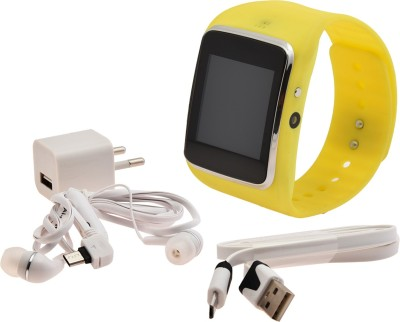 Jas Hi Watch Smartwatch (Yellow Strap)