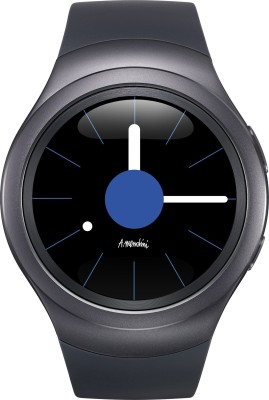 SAMSUNG Gear S2 Dark Grey Smartwatch (Grey Strap)