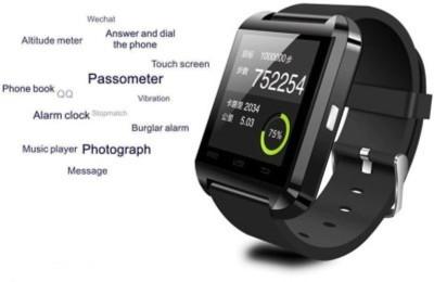 MCR U8 Smartwatch (Black Strap)
