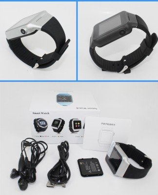 Kingshen Android Smart Watch S39 Black Smartwatch (Black Strap)