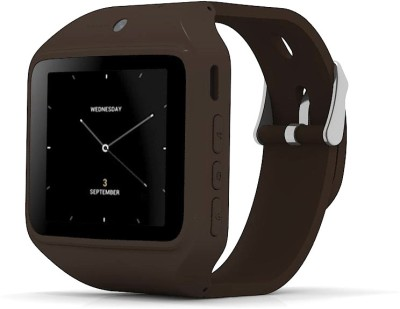 Kenxinda Swatch2 Brown Smartwatch (Brown Strap)