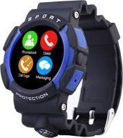 Bingo C3 Blue Bluetooth Smartwatch Waterproof Compatible With Android And IOS Smartwatch (Blue Strap)