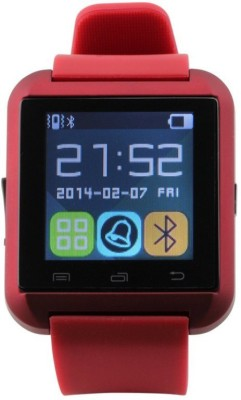 Micomy U8 Smartwatch (Red Strap)