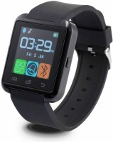 Aomax U8 With Sim For All Smart Device Smartwatch (Black Strap)