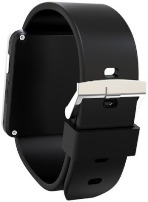 MDI Bluetooth Watch for iPhone, Sony, Samsung & All Android Smartwatch (Black Strap)