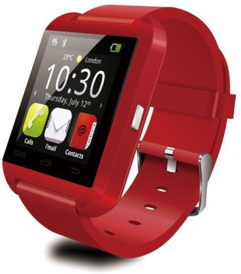 Maya U8 Premium (RED) Red Smartwatch (Red Strap)